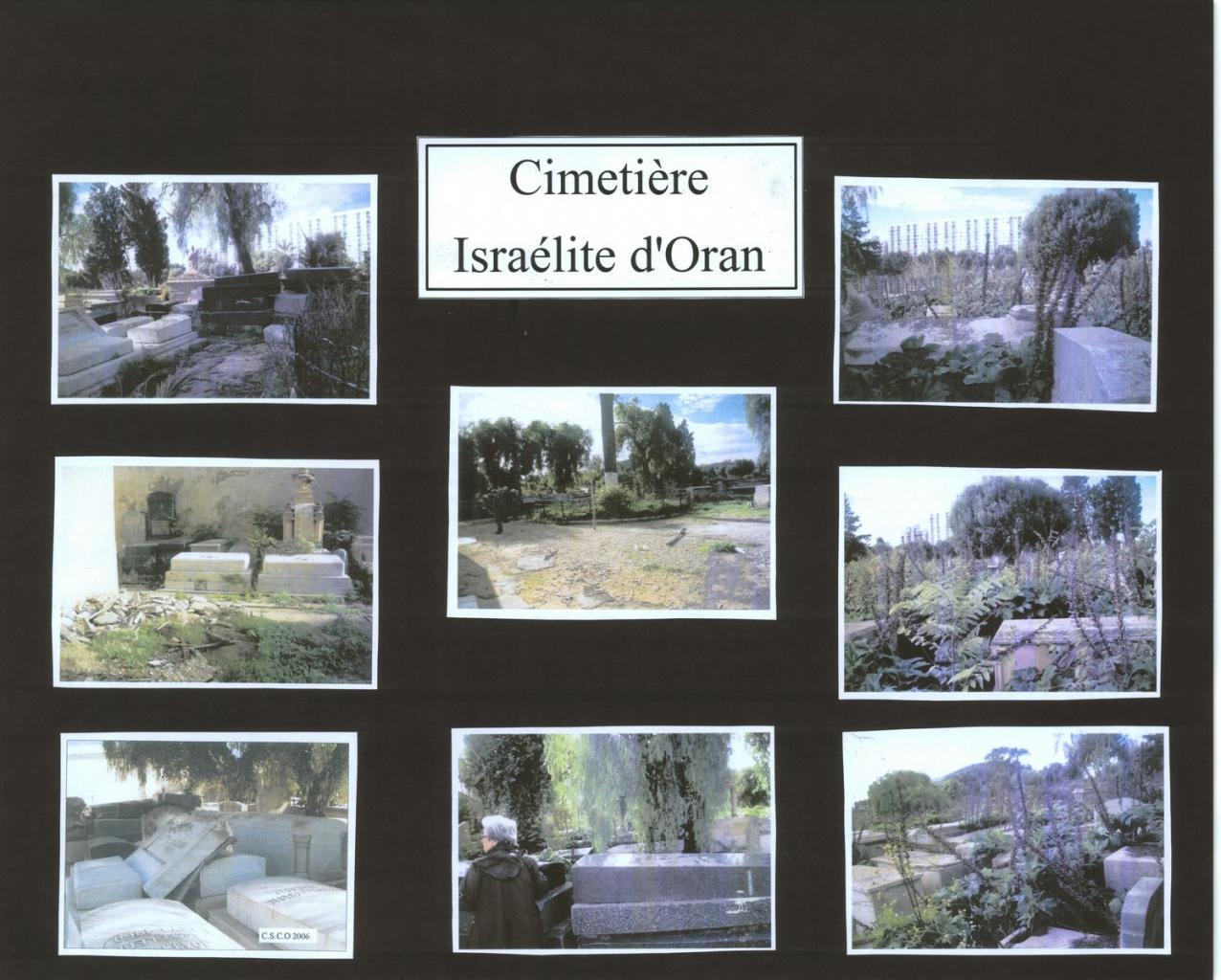 Oran Cimetière israélite