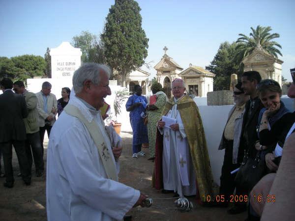 Benediction caveau de regroupement 2009 Oran