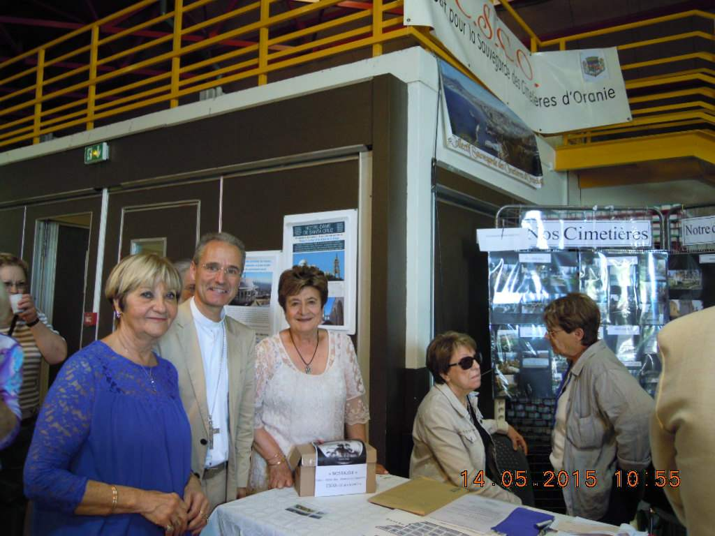 Mgr J.P Vesco-Stand CSCO Nîmes 2015