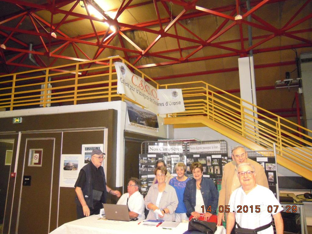 Stand CSCO Nîmes Ascension  2015