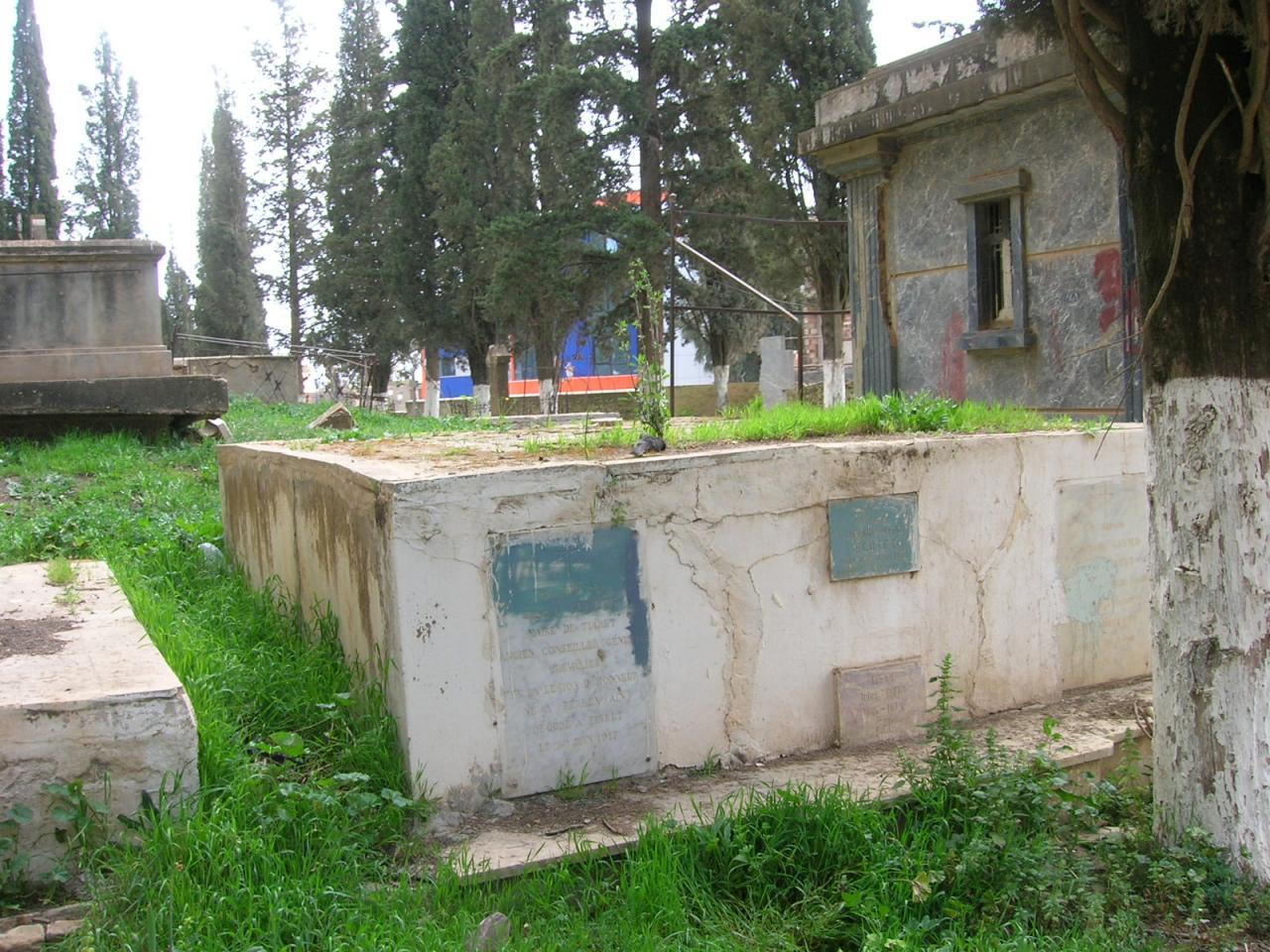 Cimetière de Tiaret 2008